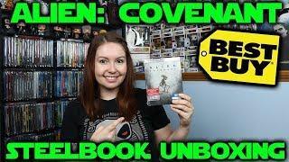Alien: Covenant Best Buy Exclusive 4K Steelbook Unboxing