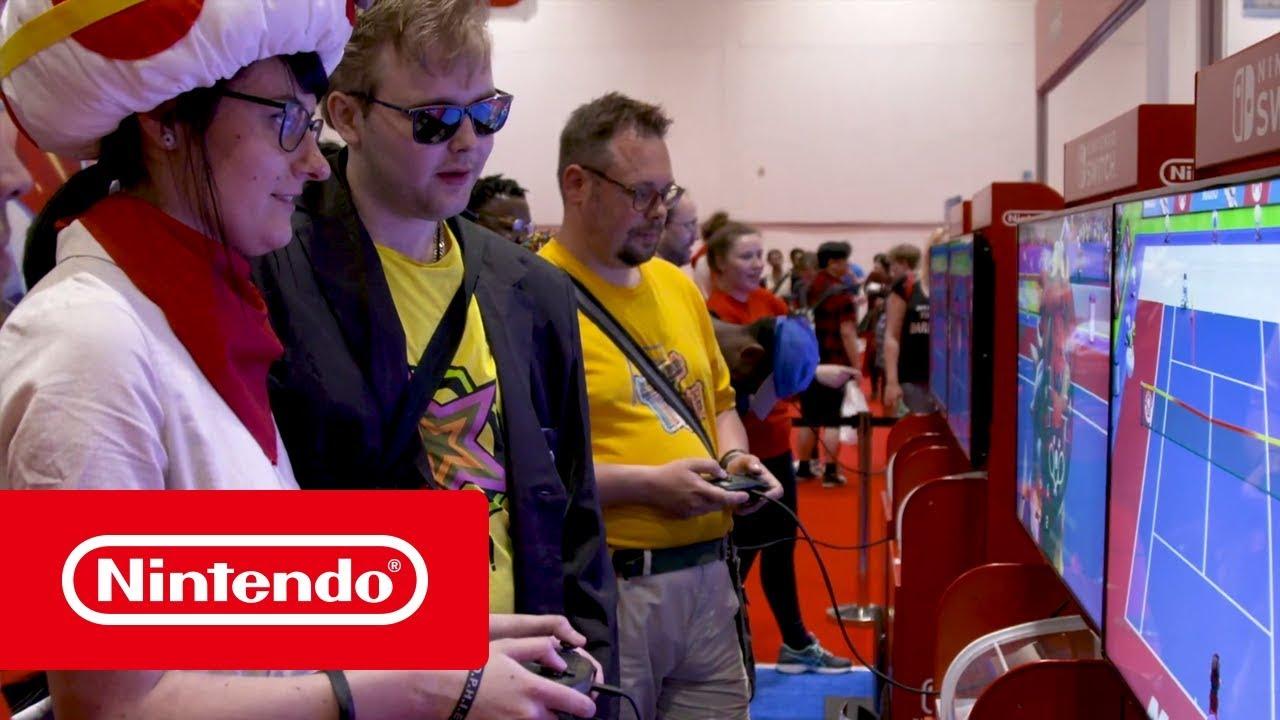 Mario Tennis Aces - MCM 2018 Impressions (Nintendo Switch)
