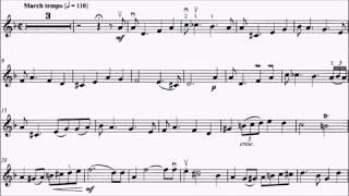 HKSMF 71st Violin 2019 Class 215 Grade 6 Hungarian Trad Invitation to Dance Sheet Music 校際音樂節