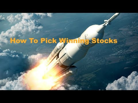 How To Pick Winning Stocks Before They Take Off Like A Rocket!