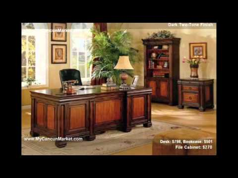Cancun Market Furniture Home Office.wmv