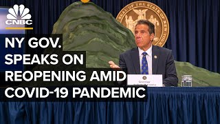 New York Gov. Andrew Cuomo updates the public as more businesses reopen — 8/17/2020