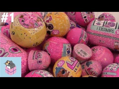 Random LOL Surprise Basket 1! LOL Underwraps, Pets Eye Spy, and Confetti Pop Doll Unboxing