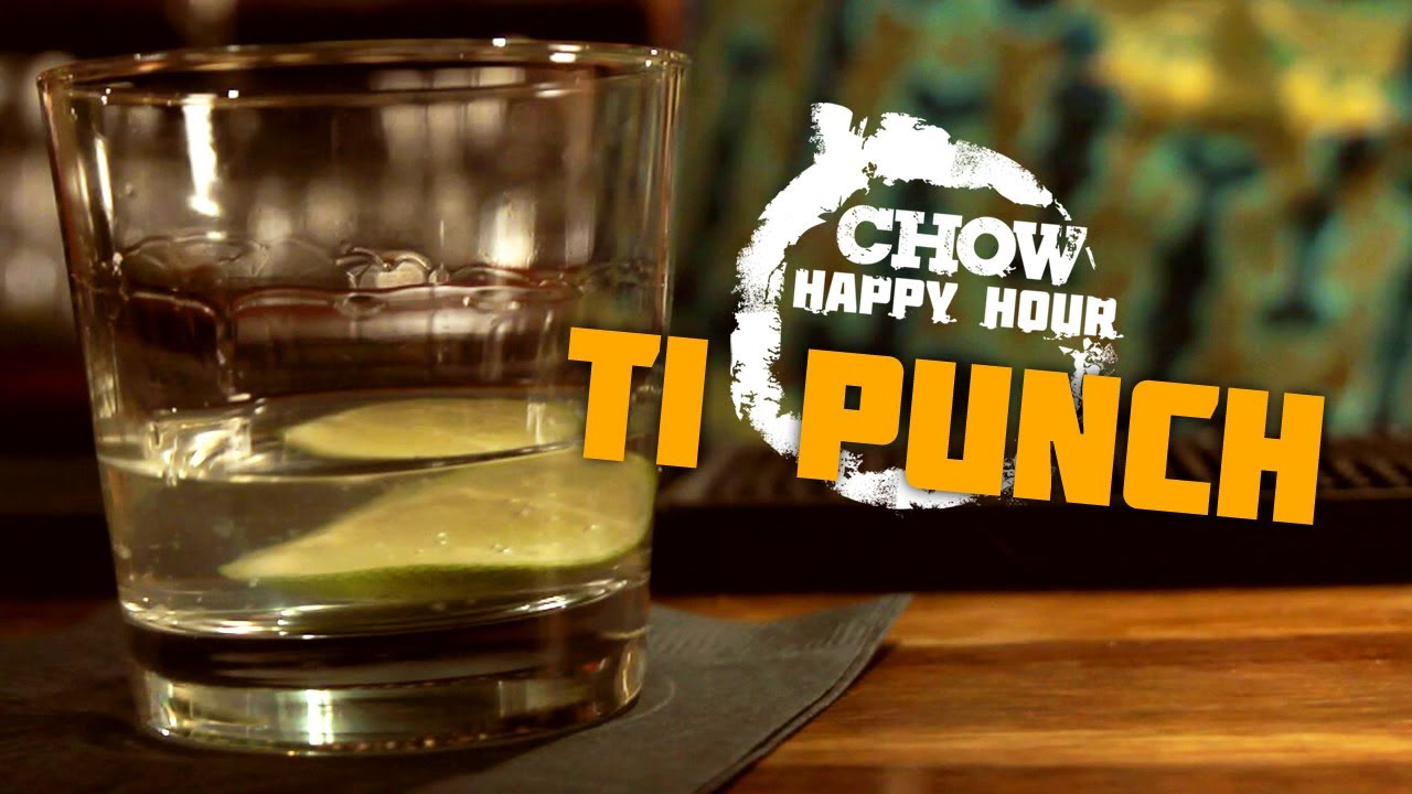 Ti Punch and Martinique Beaches - CHOW Happy Hour