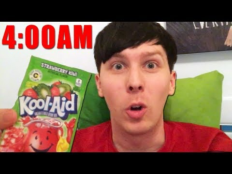 A HUNGRY Sleepless Night With Phil