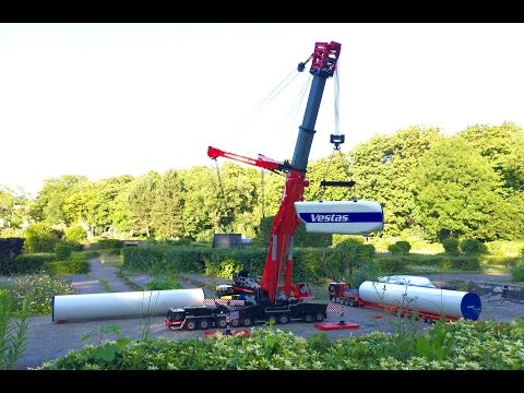 LEGO Liebherr LTM 11200 'The Final Video' At Construction Site