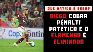 O pífio e patético pênalti de Diego e os semifinalistas da Copa do Brasil