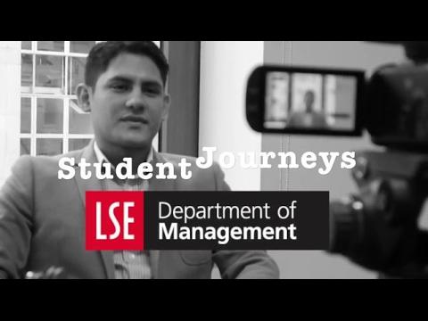 Introducing Daniel - Student Journeys: Michaelmas Term