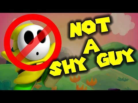 Shy Guy is NOT A SHY GUY !