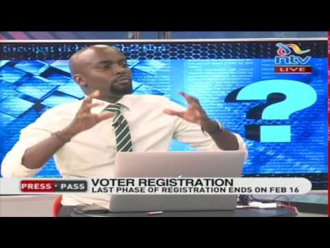 IEBC voter registration part 1- #PressPass