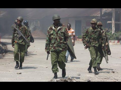 """""""We have evidence of police brutality.."""" Kisumu Governor elect Anyang Nyong'o"""