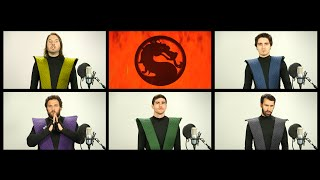 MORTAL KOMBAT THEME SONG ACAPELLA!(In honor of Mortal Kombat X, we sing the classic MK theme song acapella! More Warp Zone Acapellas! ▻http://bit.ly/1OcMvsr SUBSCRIBE!, 2015-04-22T17:00:00.000Z)
