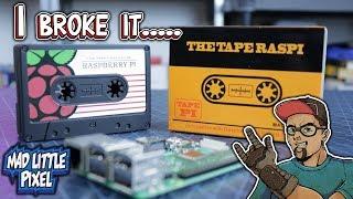 New TapePi Raspberry Pi 3B+ Case.... I Broke It Putting It Together.... Lame...