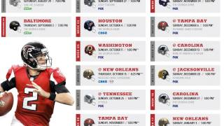 NFL Schedule Release: Quick thoughts on the Atlanta Falcons