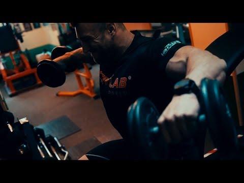 Emil Kaleński VLOG#3 - trening barków i tricepsów