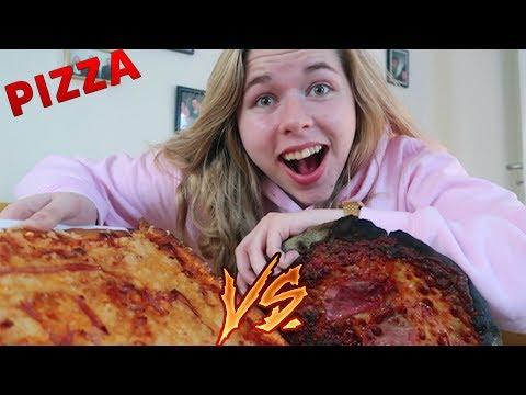 WER macht die bessere PIZZA? 🍕