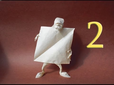 Origami Self Made Man Eric Joisel Tutorial Part 2