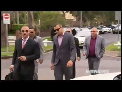 Blake Ferguson fronts Sydney court over alleged assault