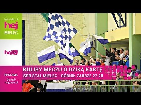 hej.mielec.pl TV:  SPR Stal Mielec – Górnik Zabrze 27:28 [KULISY]