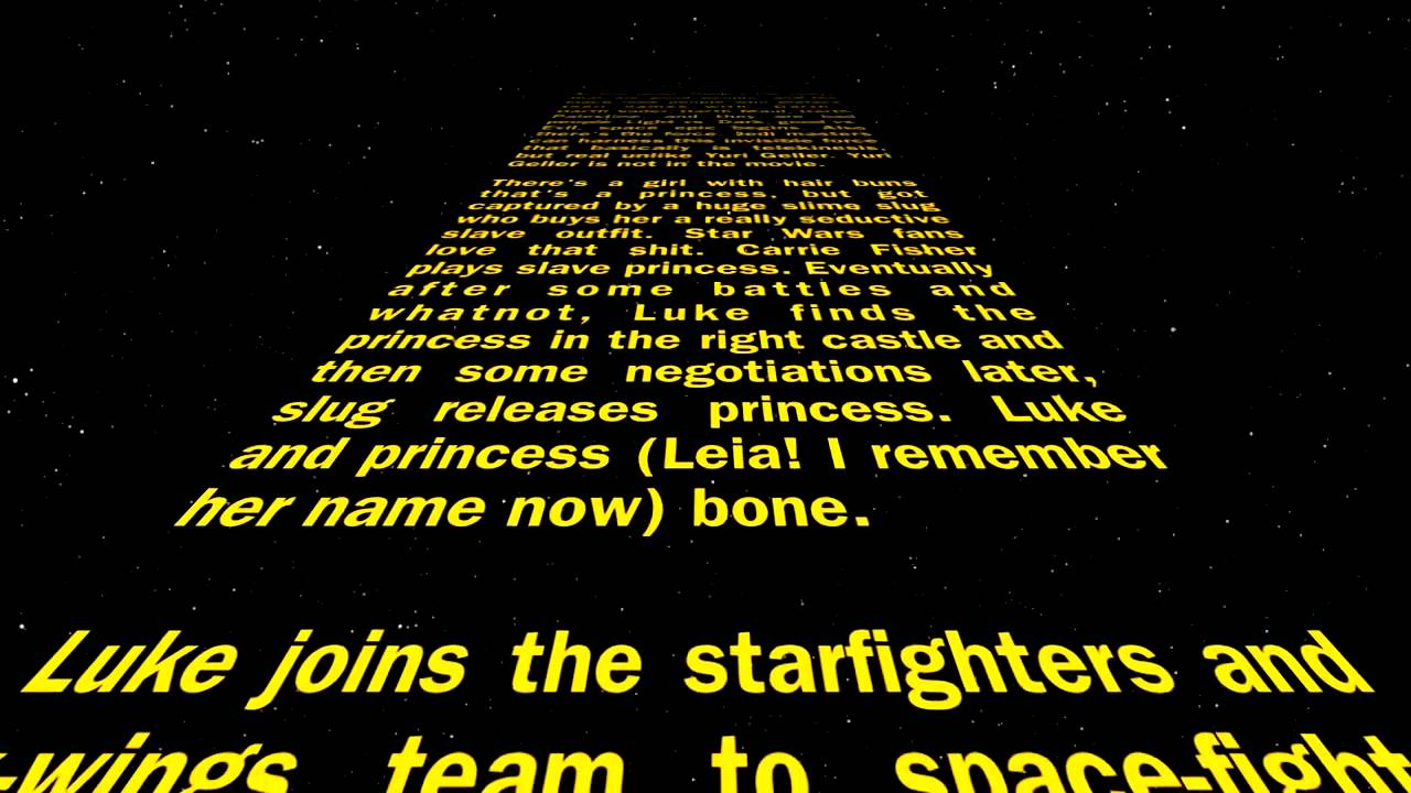 Star Wars, as told by someone who hasn't seen it | ITworld