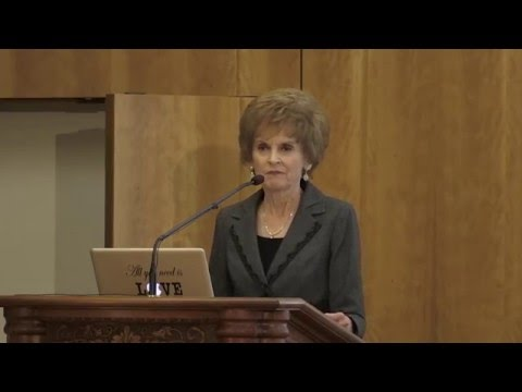 "Bonnie Brinton, ""Speech-Language Pathology and the Disciple-Scholar"" (2015 Neal A. Maxwell Lecture)"