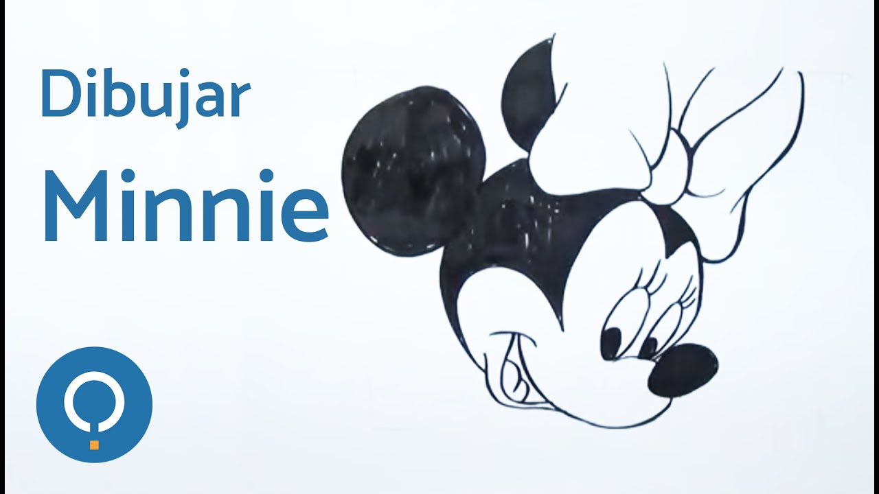Aprende a dibujar la cara de Minnie Mouse. - YouTube