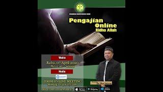 Pengajian Online Okeu Setiawan 08 April 2020