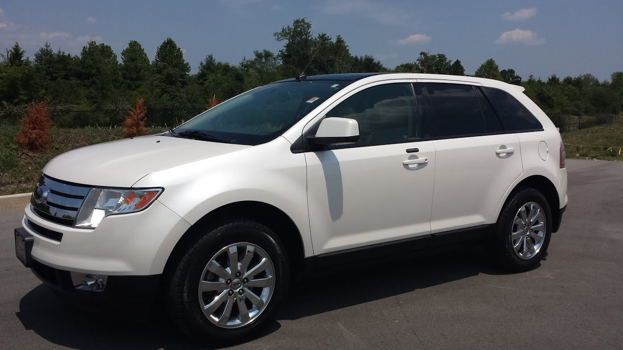 Sold 2010 Ford Edge Sel White Platinum Fwd 57k 1 Owner For