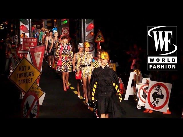 Moschino Spring-Summer 2016 Milan Fashion Week