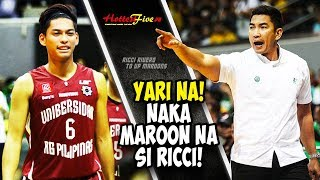 ANO KAYO NGAYON! NAKA MAROON NA SI RICCI RIVERO! (THIS IS IT! RICCI RIVERO IN UP FIGHTING MAROONS!)