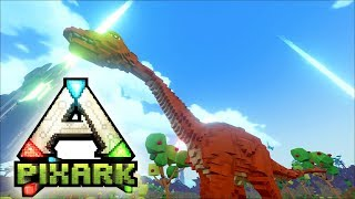 PixARK #02 | Sauropode - Der trampelt mich platt | Gameplay German Deutsch thumbnail