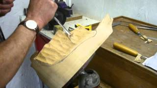 Wood Carving - 01 - Ian Norbury - Roughing Out