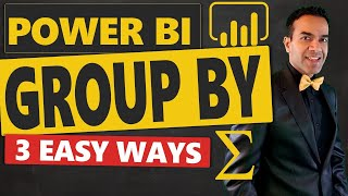 Power BI Group By Using Query Editor DAX and Some Magic