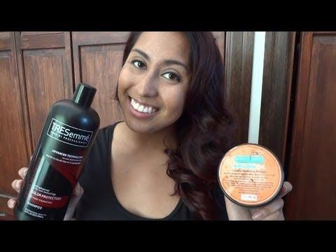 Deep Auburn Red Tutorial Amp Hair Care Youtube