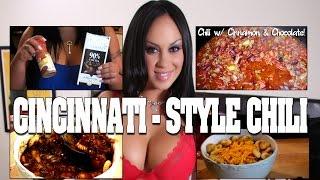 Cincinnati Style Chili!  #1 On Youtube By Sexy Chef Mariah Milano