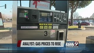 Gas prices to start going up