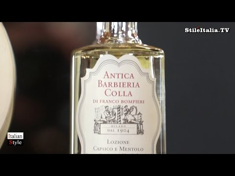 """Italian Men's Grooming"" - ""Antica Barbieria Colla"" - ""Hair Care Products - ""Italian Gentleman"""