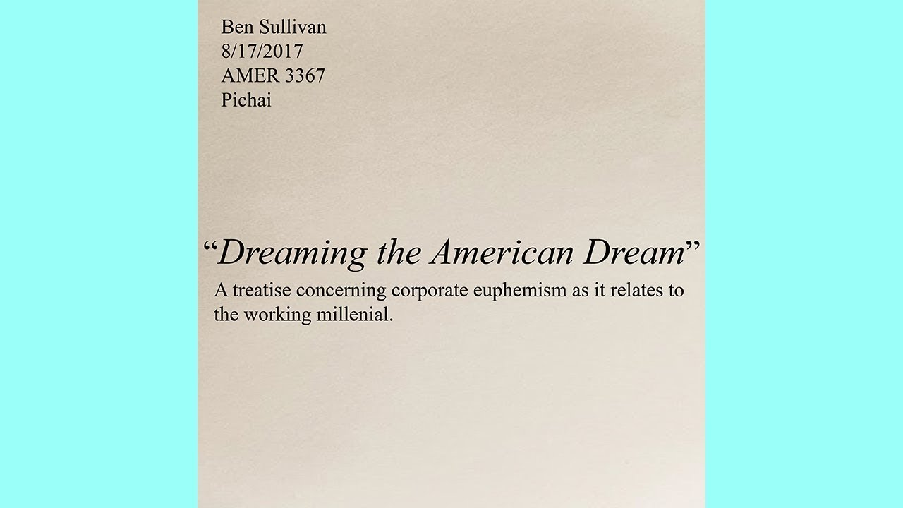 Poems About The American Dream 2