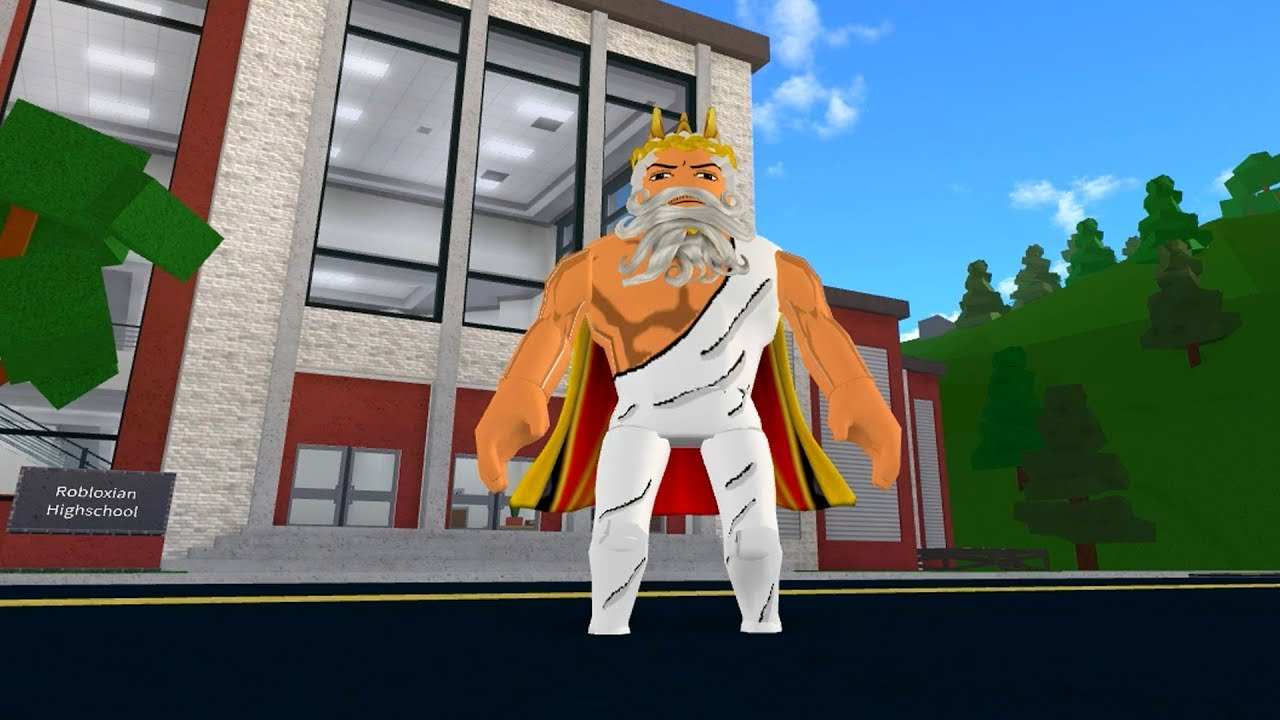 HOW TO BE GOD IN ROBLOXIAN HIGHSCHOOL!!
