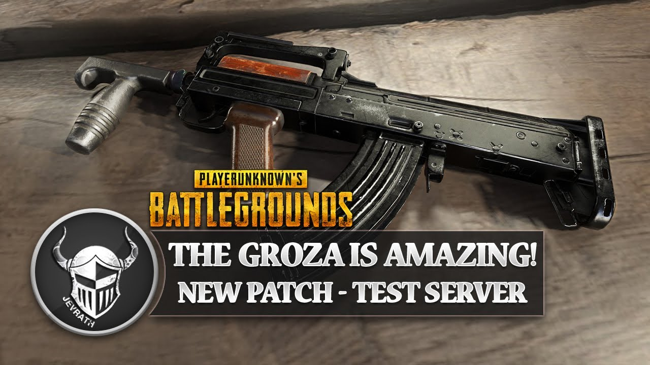 2 New Weapons Coming To Playerunknown S Battlegrounds: PLAYERUNKNOWN'S BATTLEGROUNDS // Groza