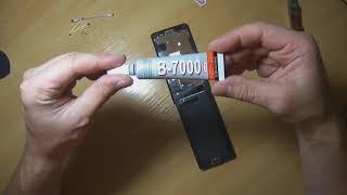 Sony Z3 Compact переклейка дисплея не разбирая полностью телефона