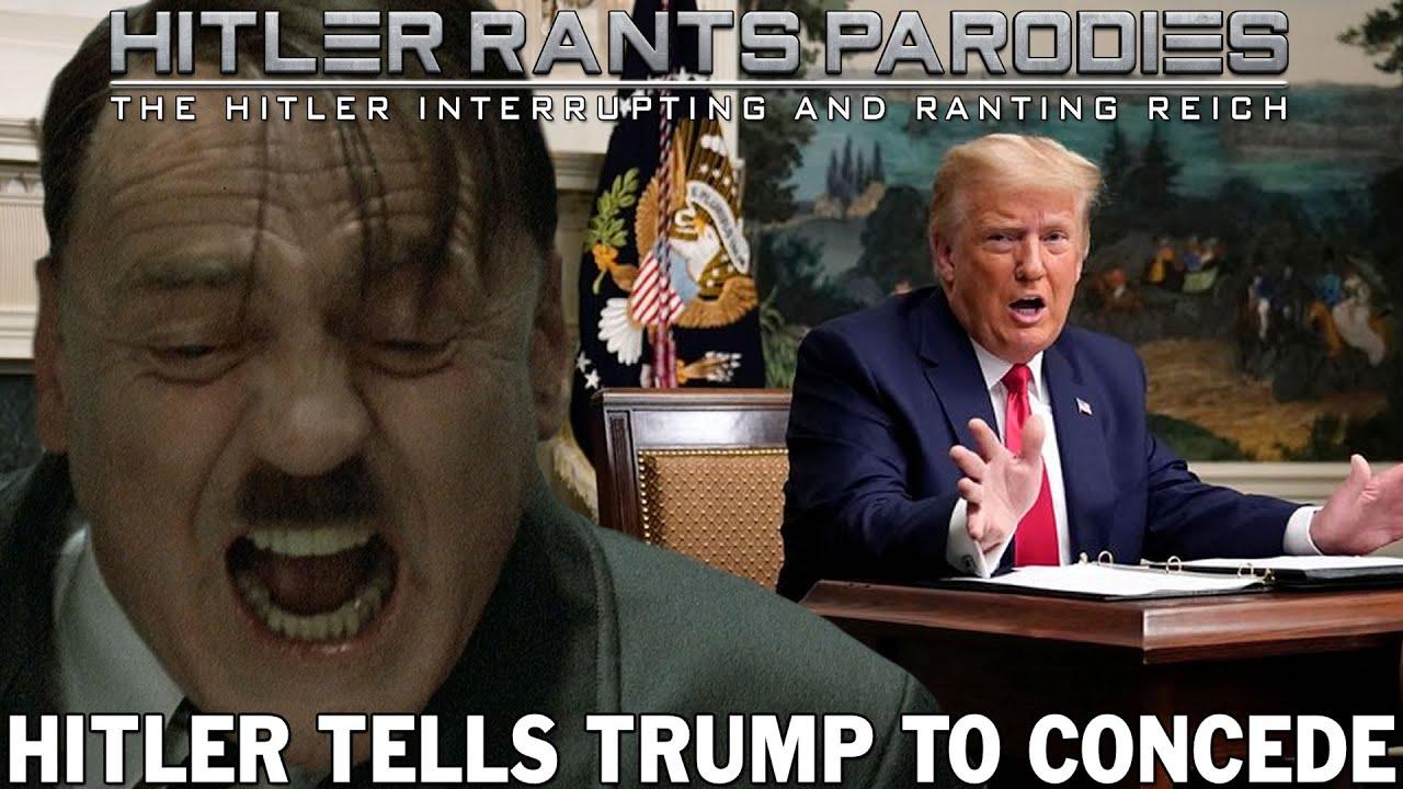 Hitler tells Trump to concede