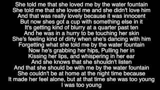 Water Fountain - By Alec Benjamin (Lyric)