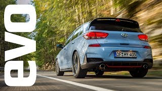 Hyundai i30 N first drive M gane RS beware the new kid on the block evo REVIEW смотреть