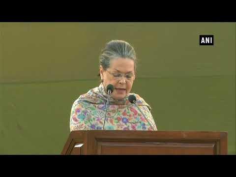 Indira ji always fought for her vision against vested interests: Sonia Gandhi