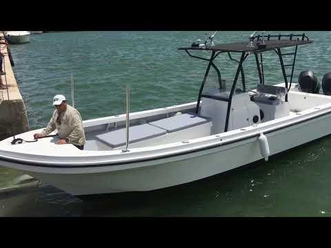 """Project """"La Cabrona"""" 33FT Custom Built Mimsa Offshore Boat México"""