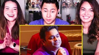 A.R. RAHMAN MEETS BERKLEE - VANDE MATARAM | Reaction!