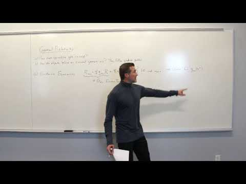General Relativity Topic 18: General Relativity and the Newtonian Limit