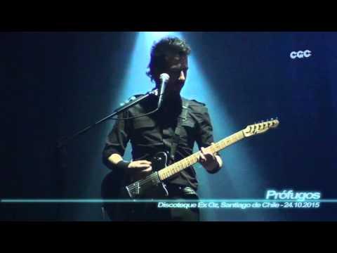 Prófugos - El Rito ( Mix-Cam - Discoteque Ex Oz, Santiago de Chile - 24.10.2015 )