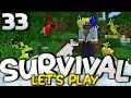 KING OF THE JUNGLE!!! - Survival Let's Play Ep. 33 - Minecraft Bedrock (PE W10 XB1)